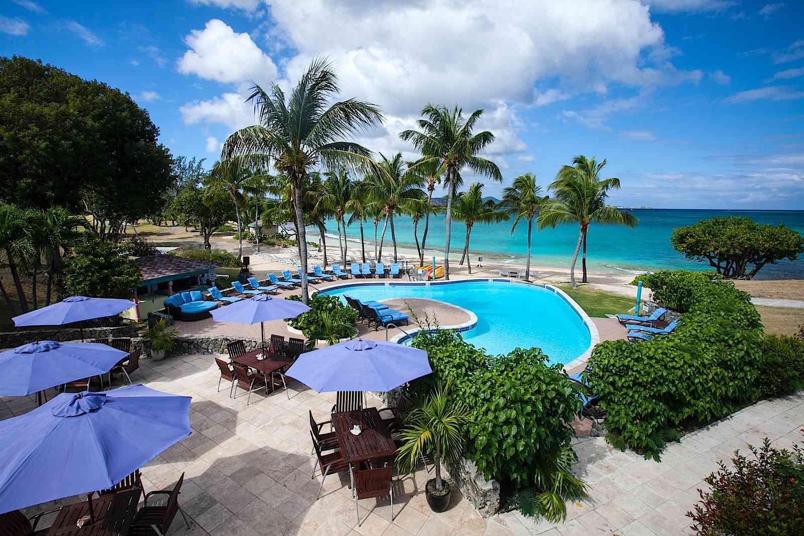 St. Croix's Buccaneer Resort - The Grotto Beach
