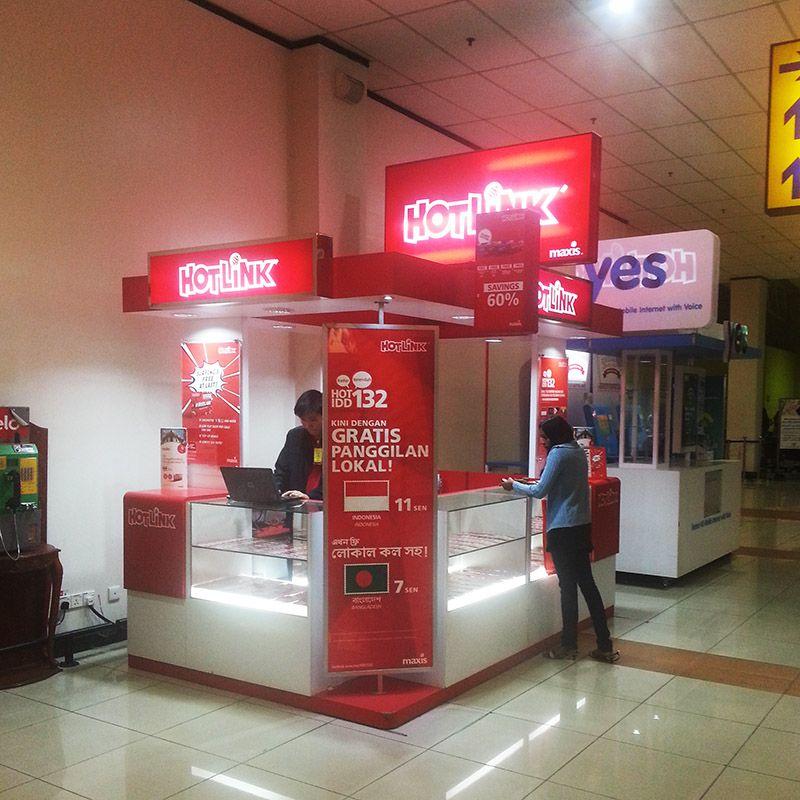 Using Maxis' Hotlink GSM Prepaid SIM Card in Malaysia