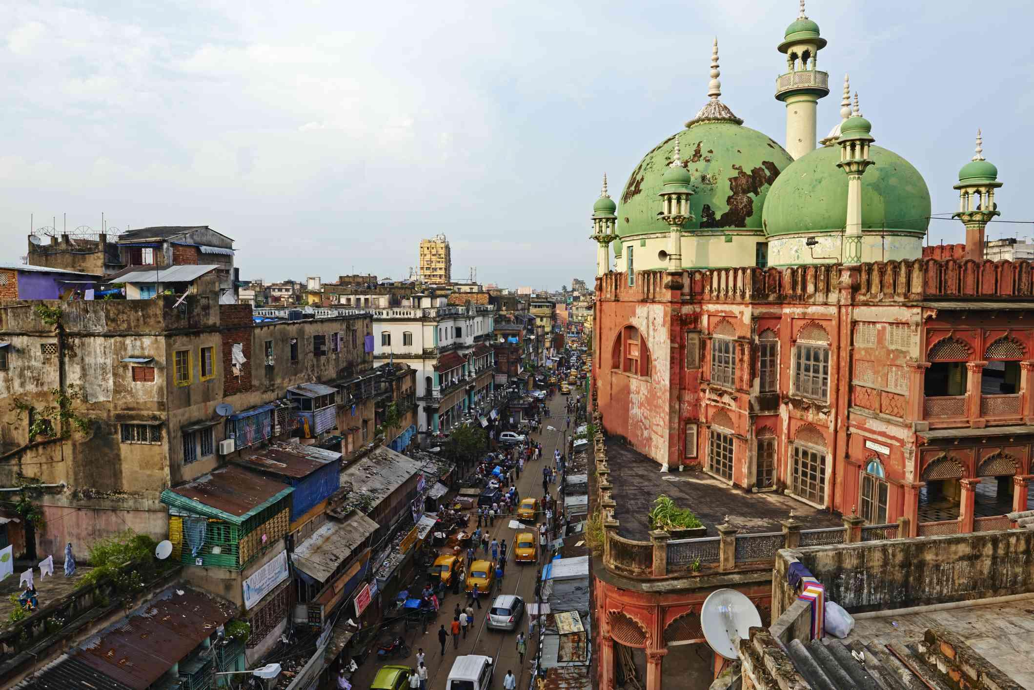India, Bengala Occidental, Calcuta, Mezquita Nakhoda
