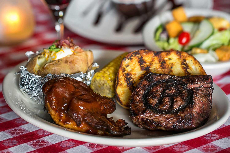 Rawhide Steakhouse turkey dinner