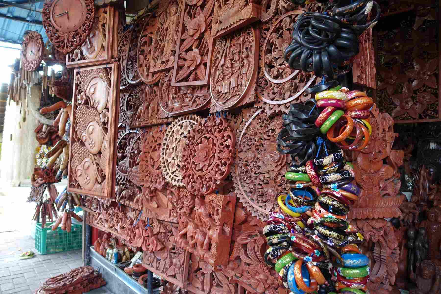 Mertanadi Art Market, Bali, Indonesia