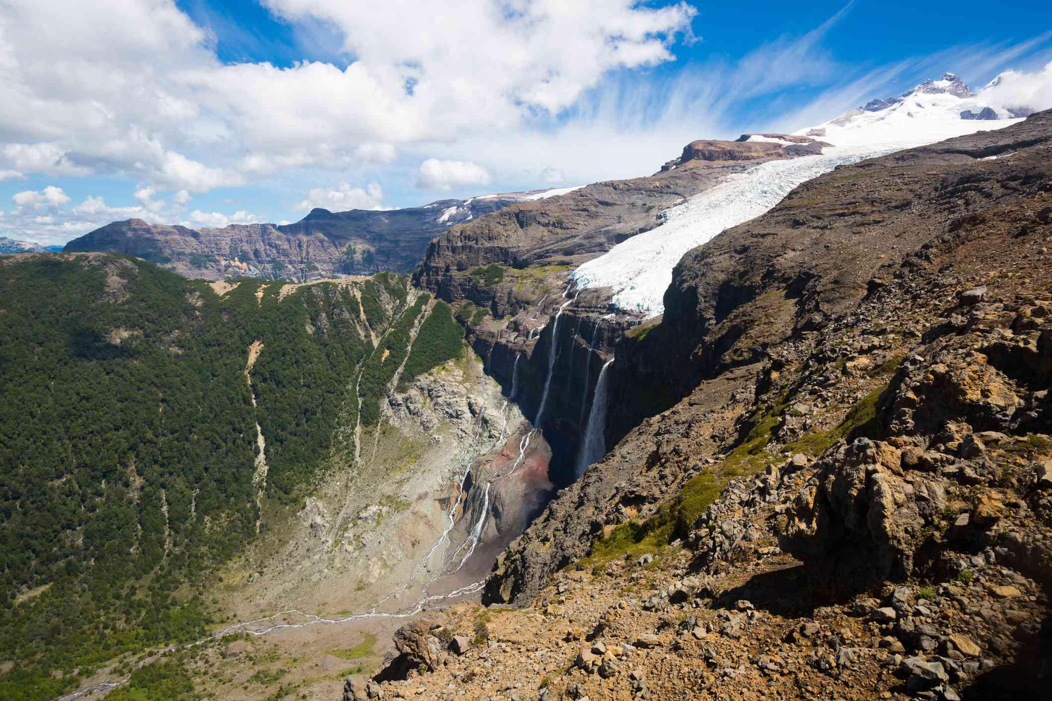 Mount Tronador and Glaciers