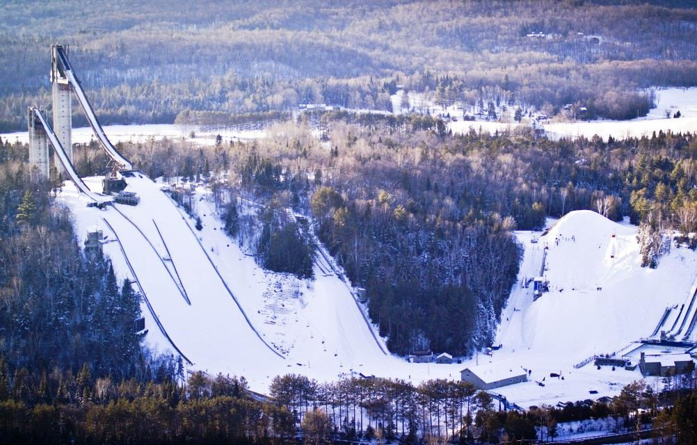 Lake Placid's Olympic Jumping Complex