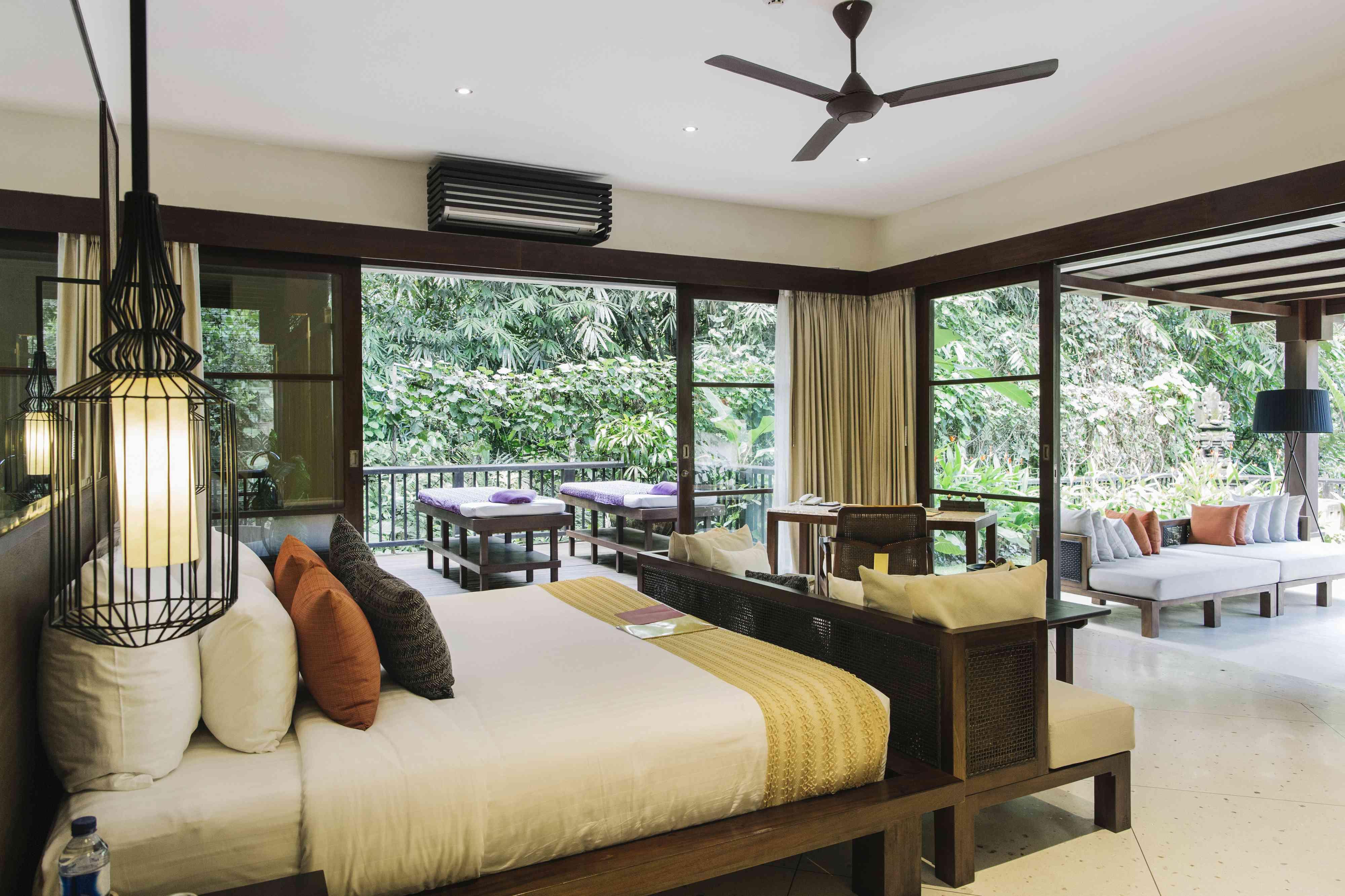 A nice hotel room in Bali