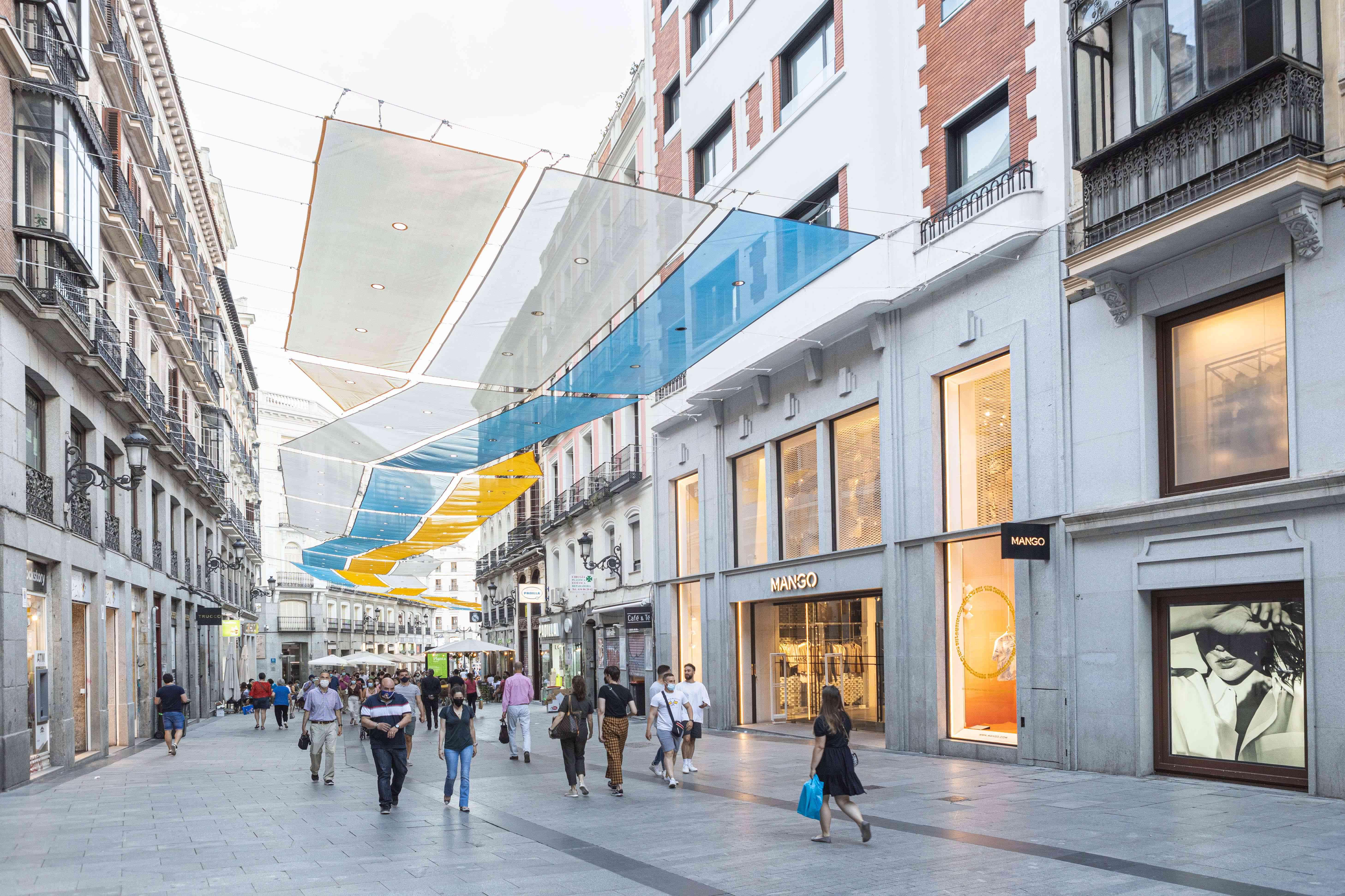 Calle del Carmen in Madrid