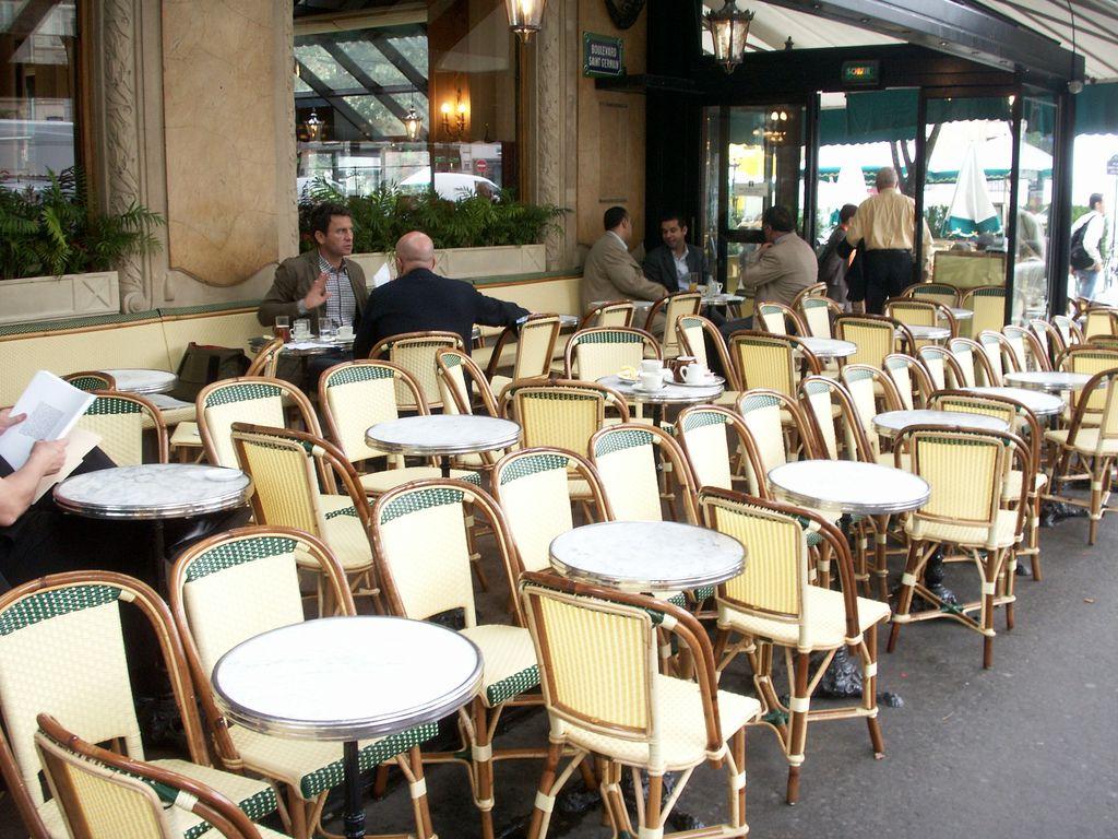 5 Fantastic Cafe Terraces in Paris