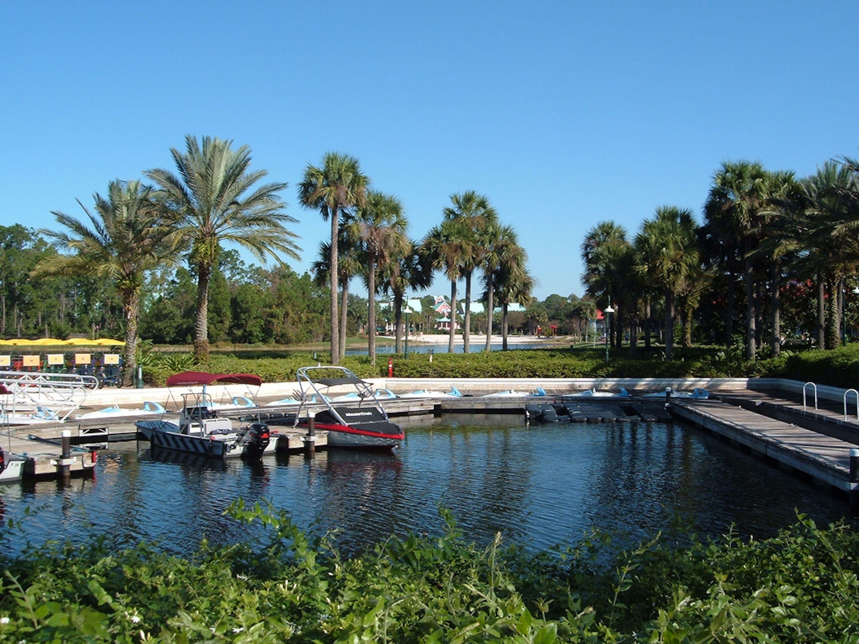 Boat rentals at Walt Disney World's Caribbean Beach Club Resort