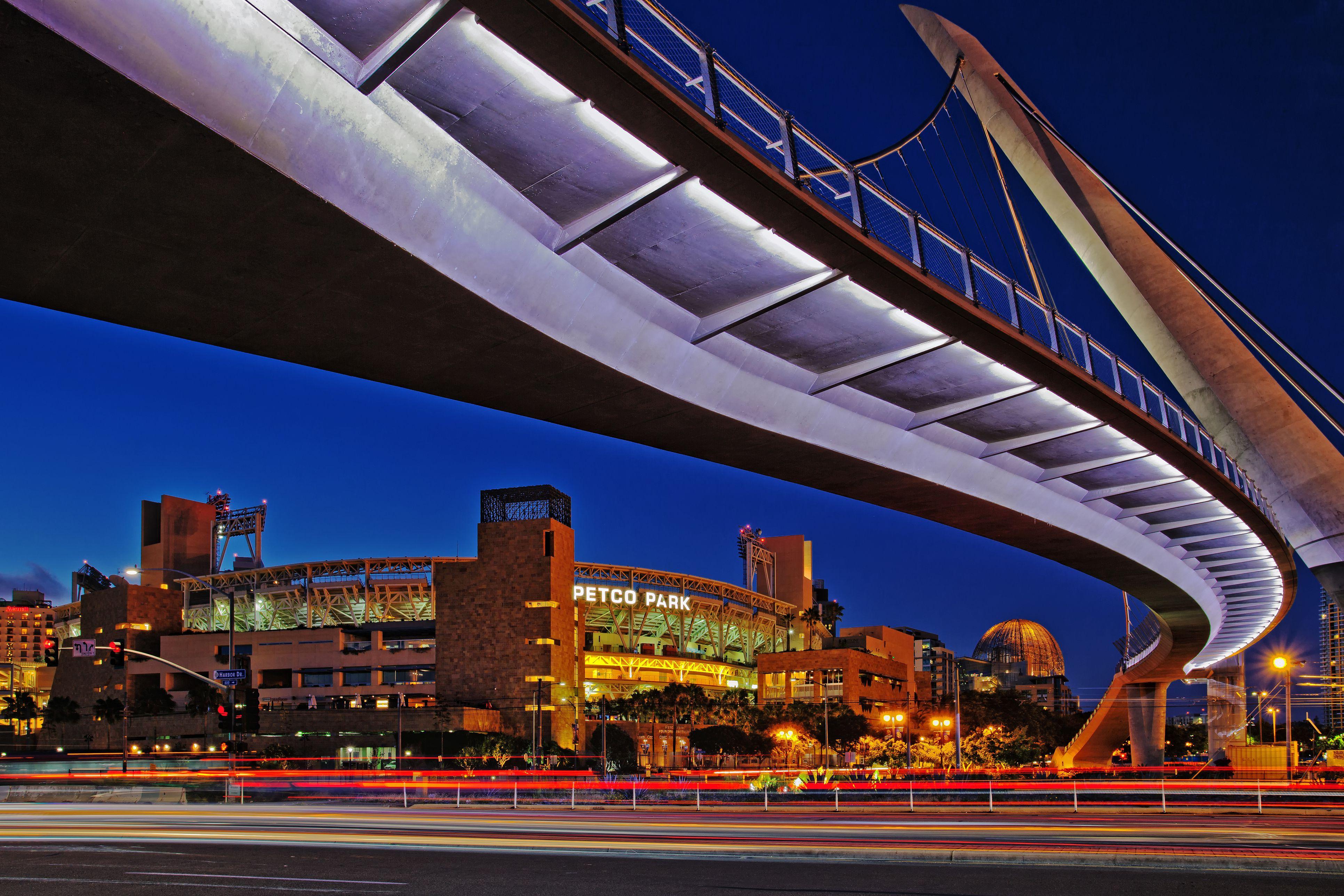 Petco Park & Pedestrian Bridge