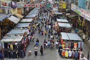Market in Mongkok, Hong Kong