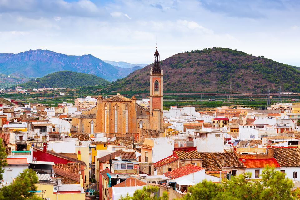 Old district of Sagunto