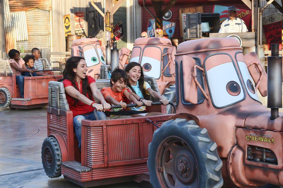 Mater's Junkyard Jamboree in Cars Land