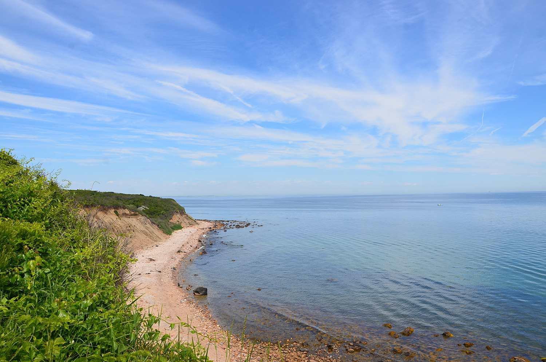 Beach At Clay Head Preserve Block Island Ri