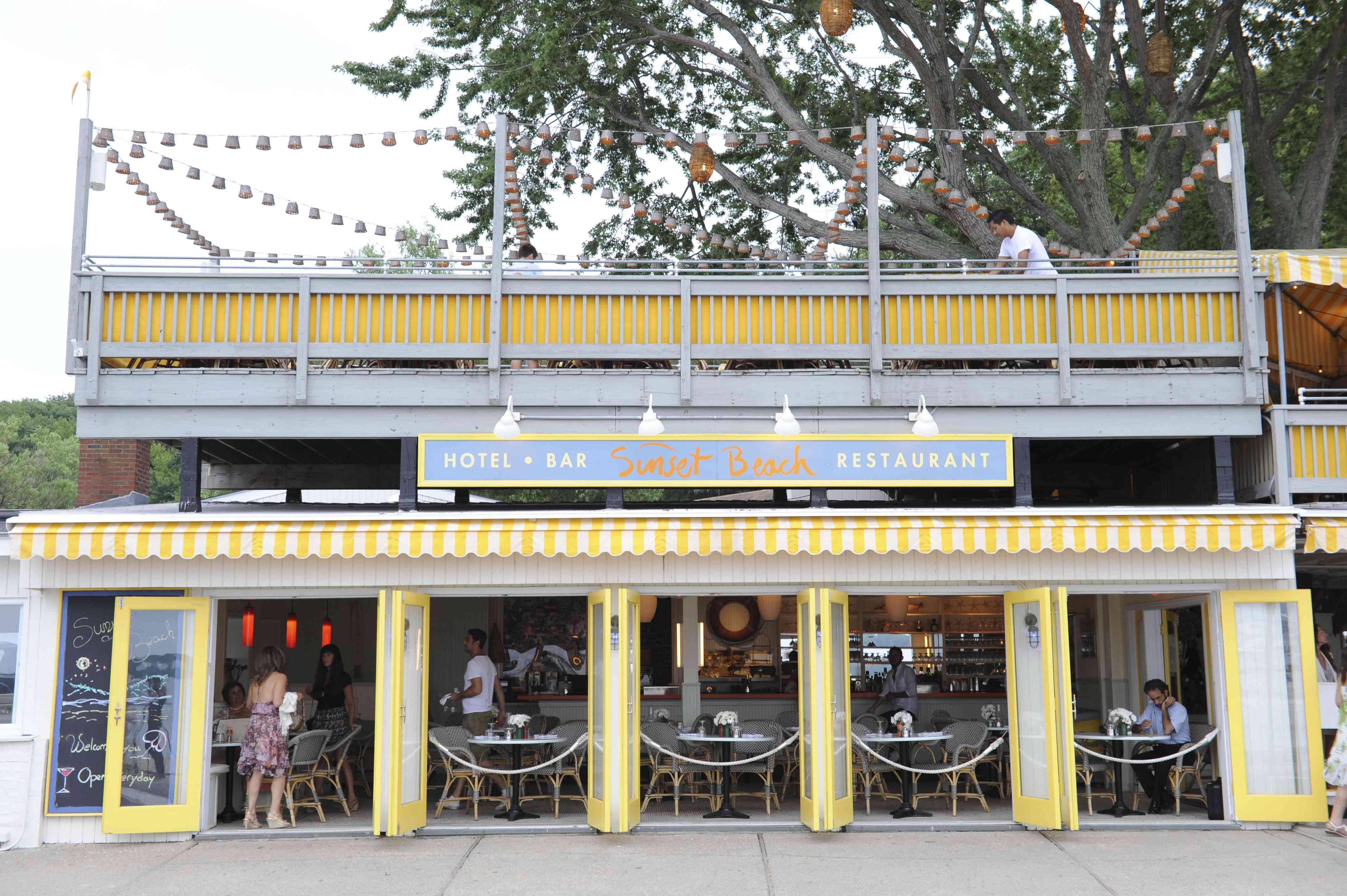 Andre Balazs And Hamptons Magazine Celebrate At Sunset Beach