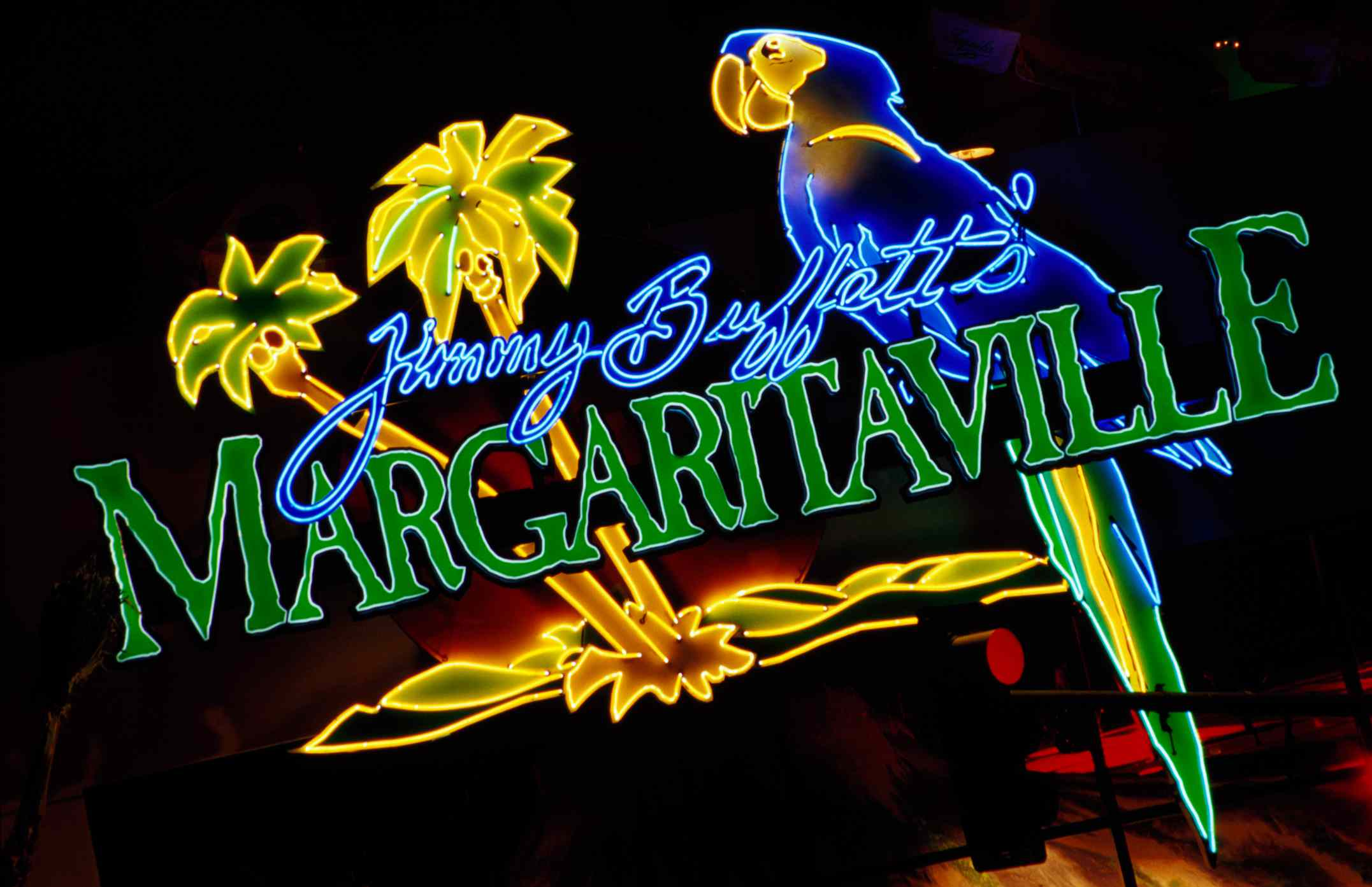 Margaritaville bar sign