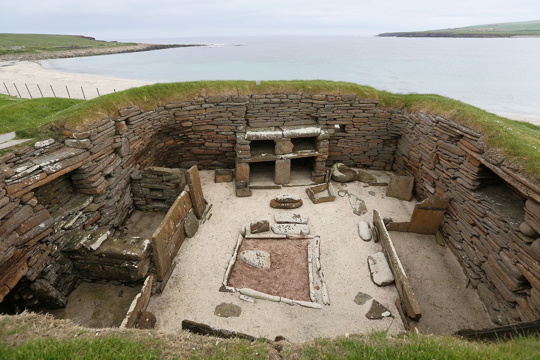 Houses of the Neolithic settlement of Skara Brae