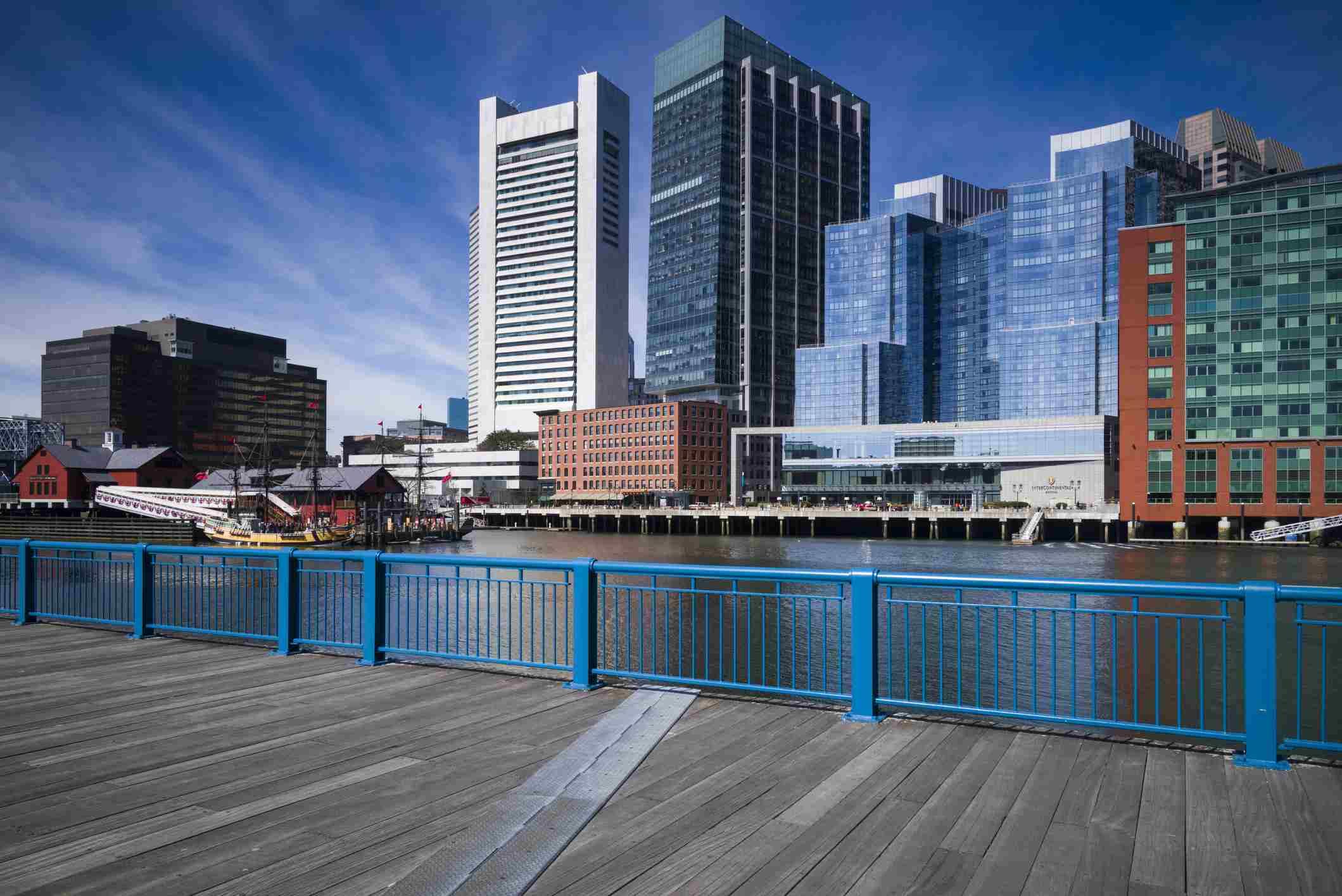 Anzeigen, wenn Boston Intercontinental Hotel