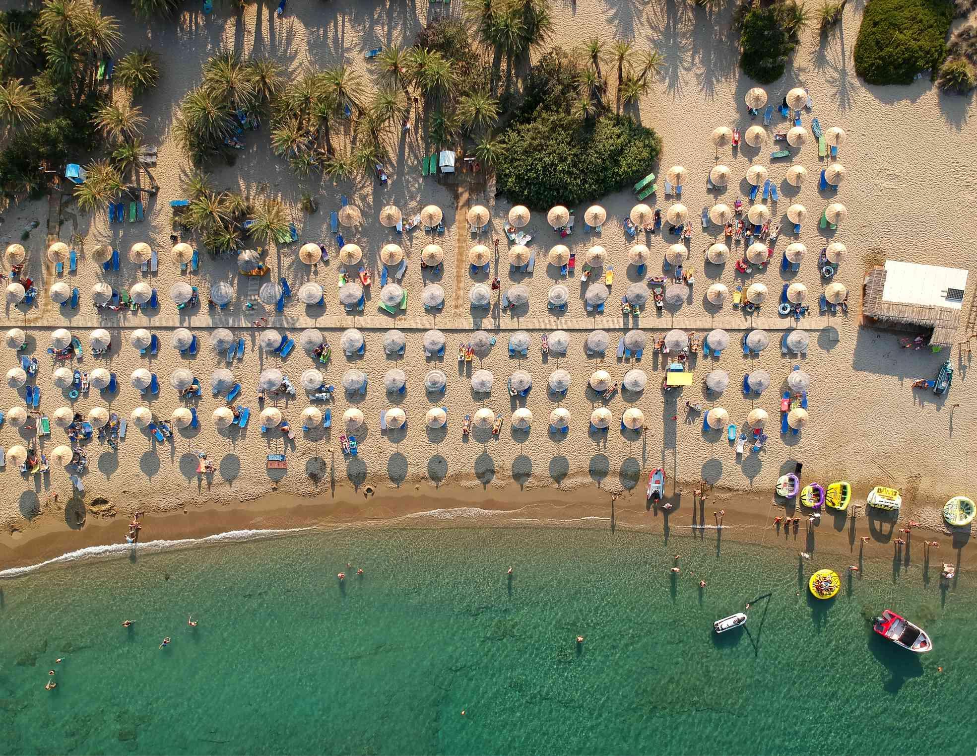 Cretan beach Vai