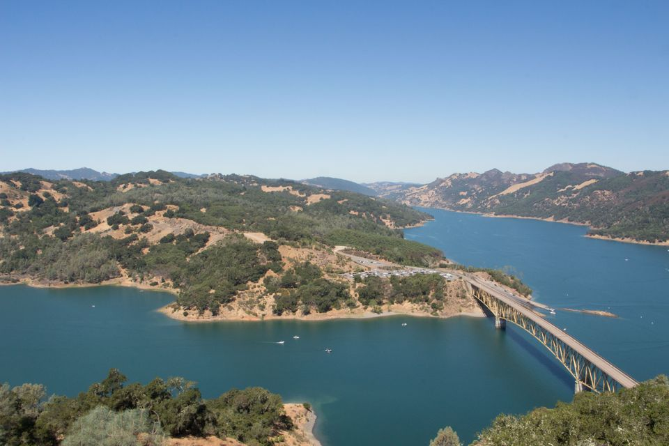 Lake Sonoma US Army Corps of Engineers site