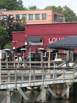pier view of Louie's