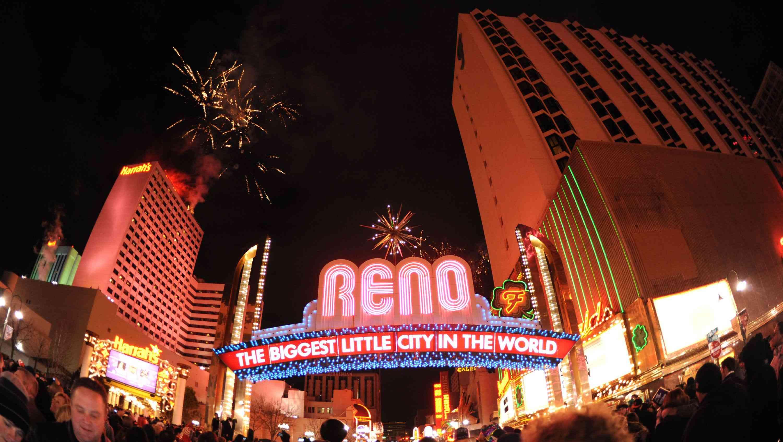 Fireworks over Reno