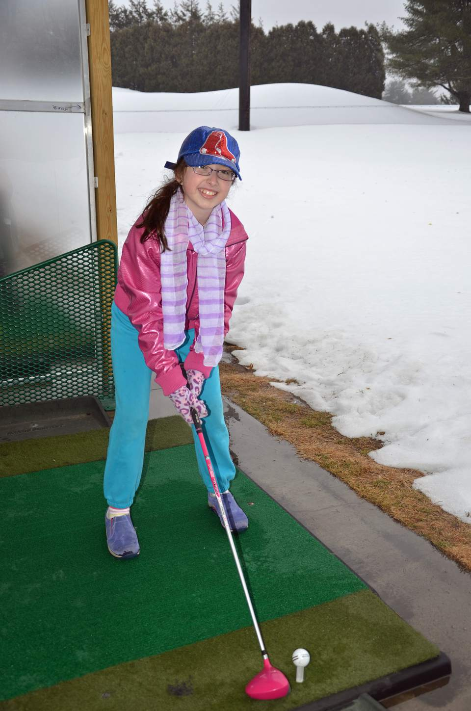 Golf in the Snow in CT