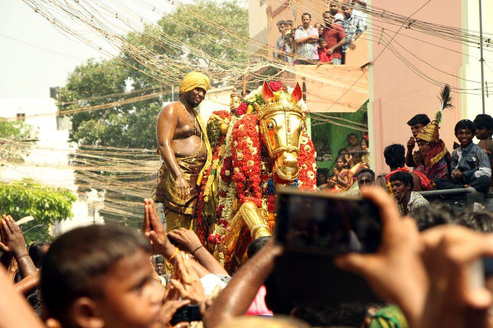 Chithirai festival.