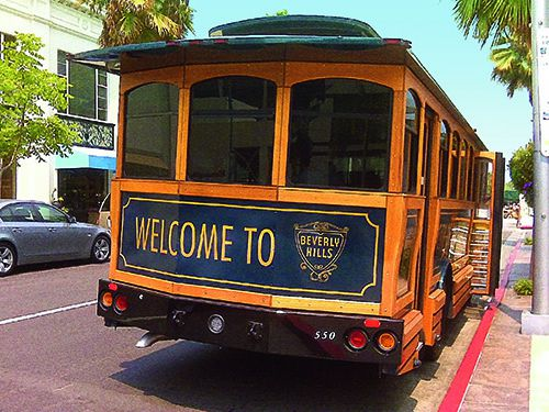 Beverly Hills Trolley Tour