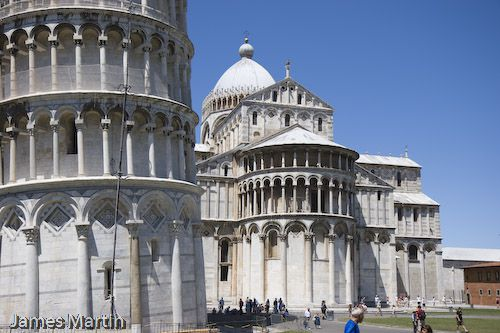 Pisa Picture: Duomo and Leaning Tower of Pisa