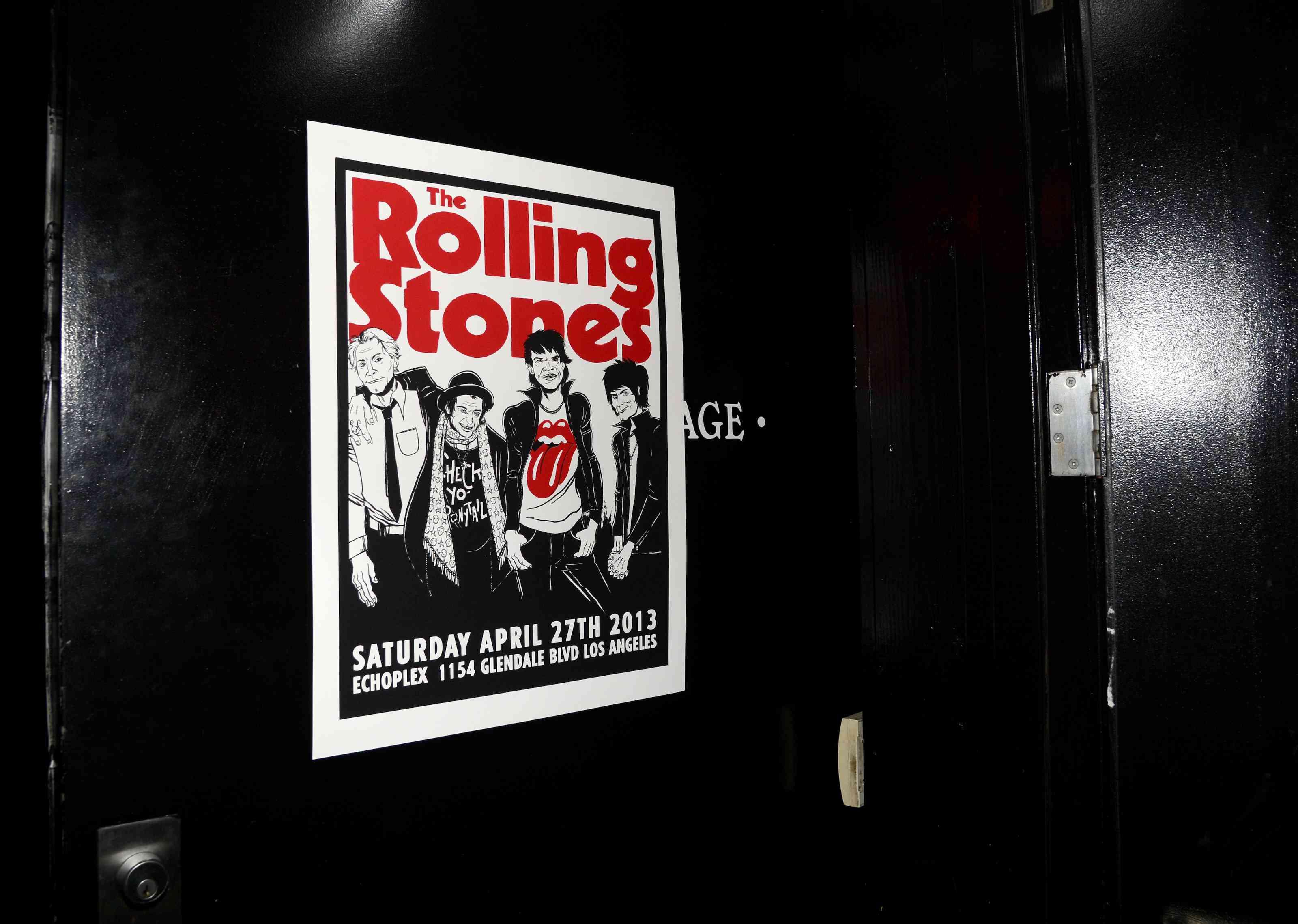 Secret Rolling Stones show at Echoplex