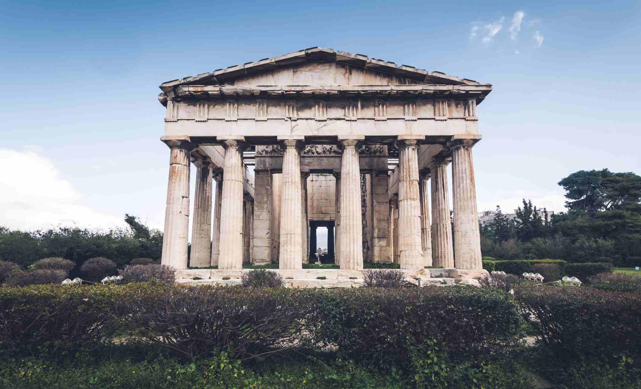 Templo de Hefesto en Atenas, Grecia