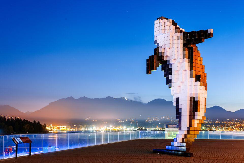 Digital orca, Vancouver