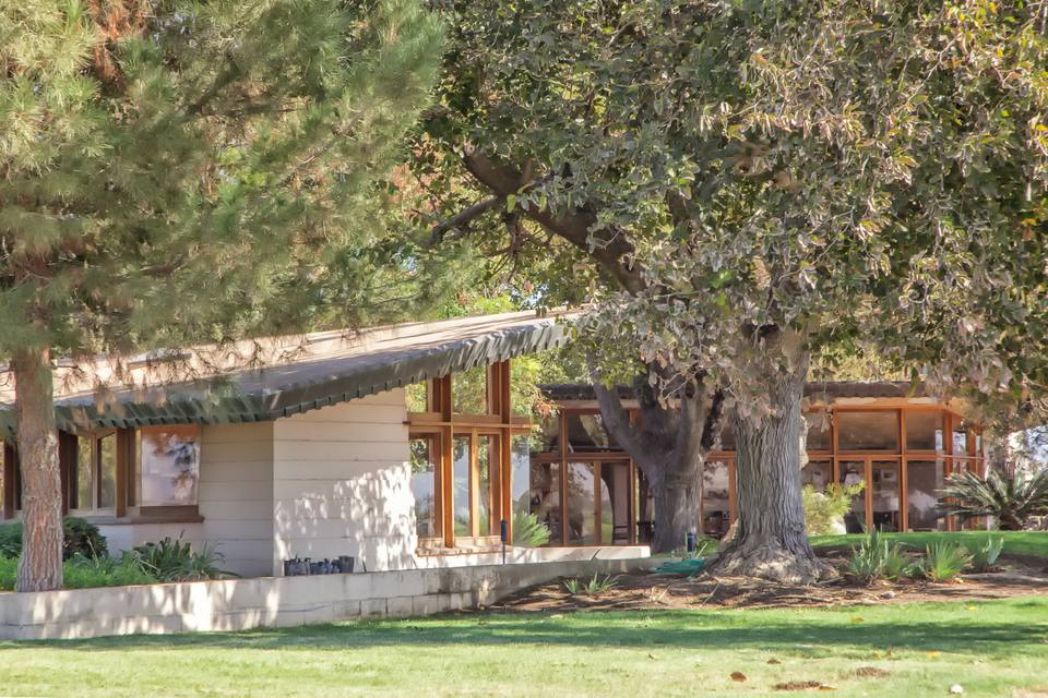 Randall Fawcett House, 1955