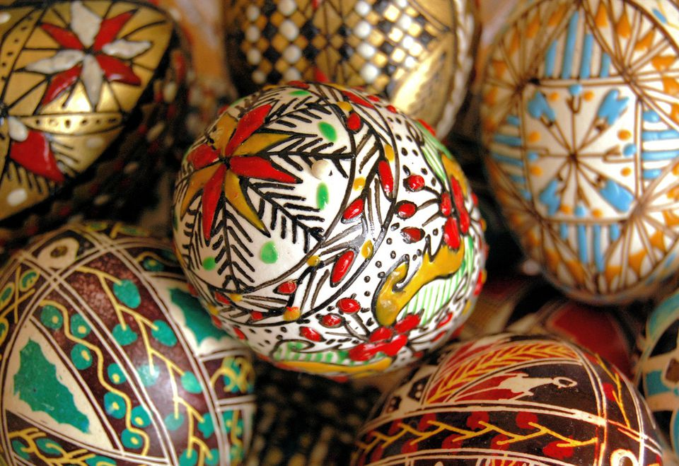 Easter Eggs from Bucovina