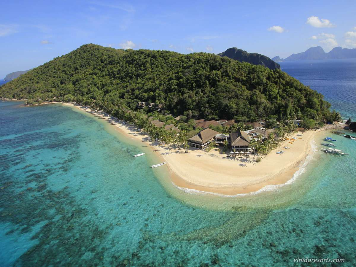 El Nido Resorts Isla Pangulasian, Isla Pangulasian