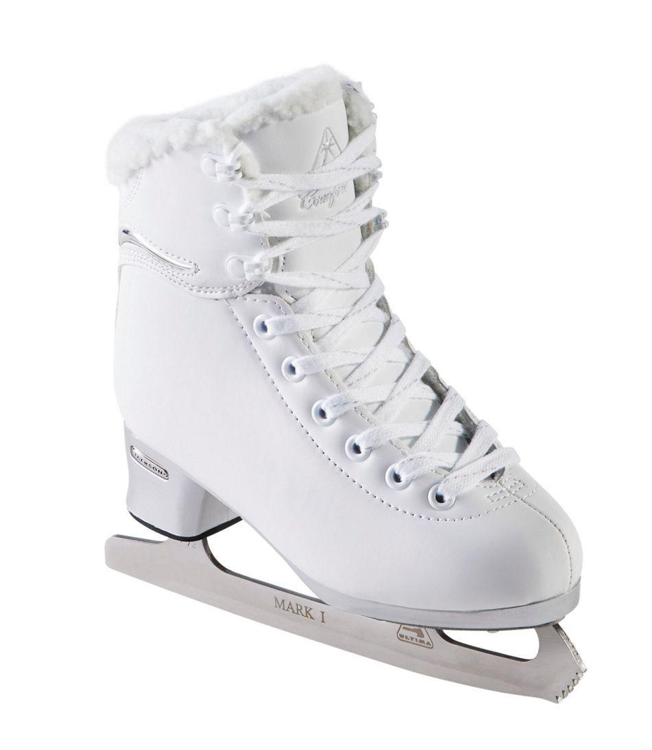 L.L. Bean Kids' Softec Comfort Figure Skates