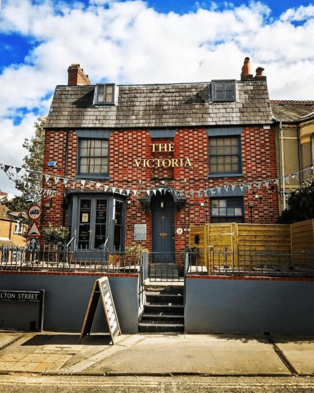 Outside The Victoria