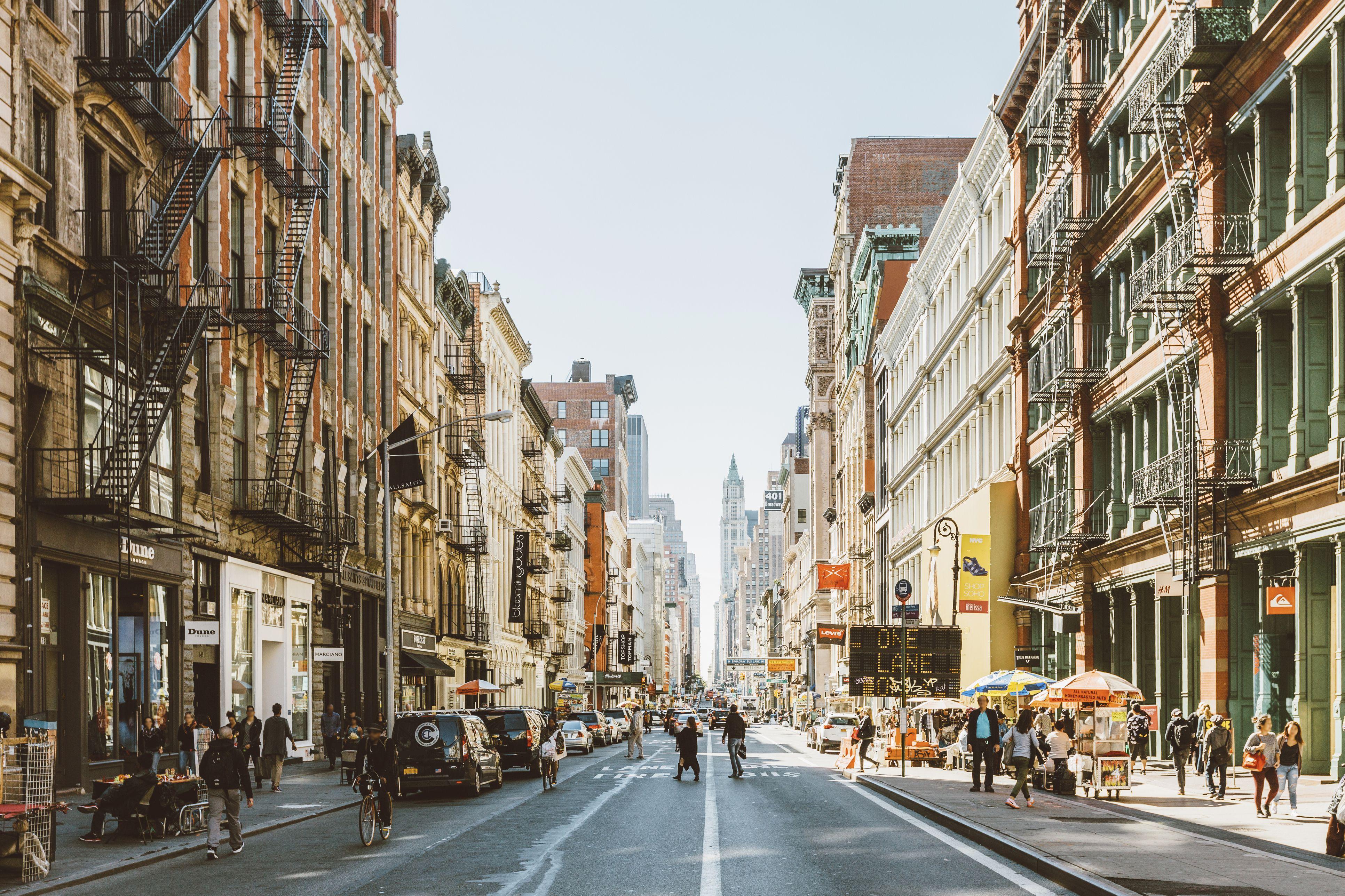 Calles de Soho, Nueva York, EE. UU.