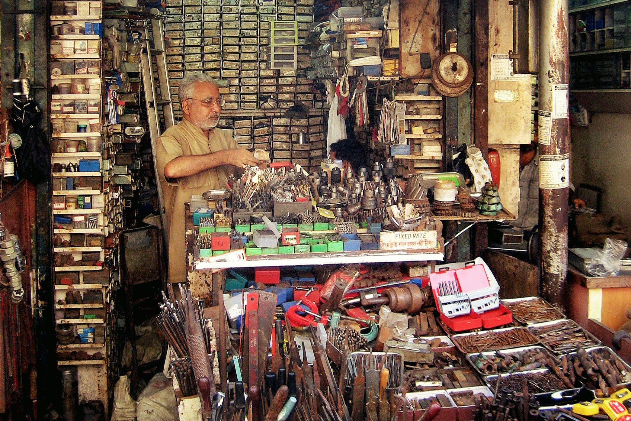 Chittor Tools Center, 168 Mutton Street, Mumbai.