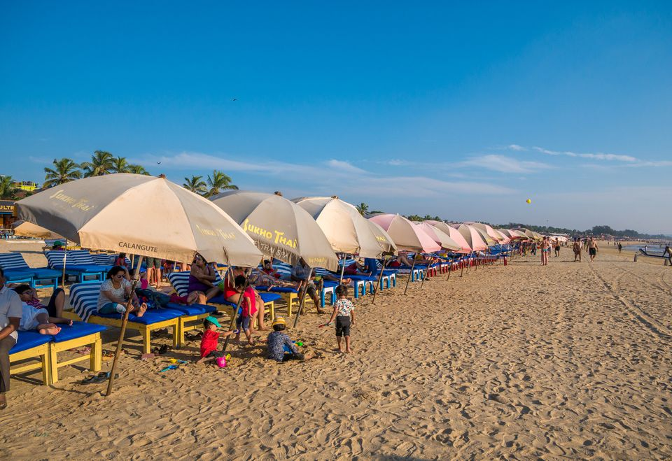 Baga beach, Goa.