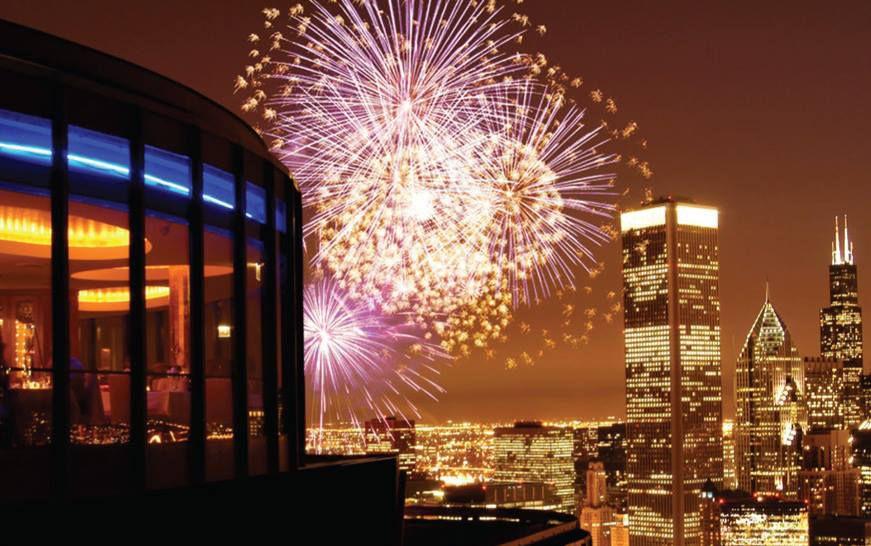 fireworks at Cite Chicago