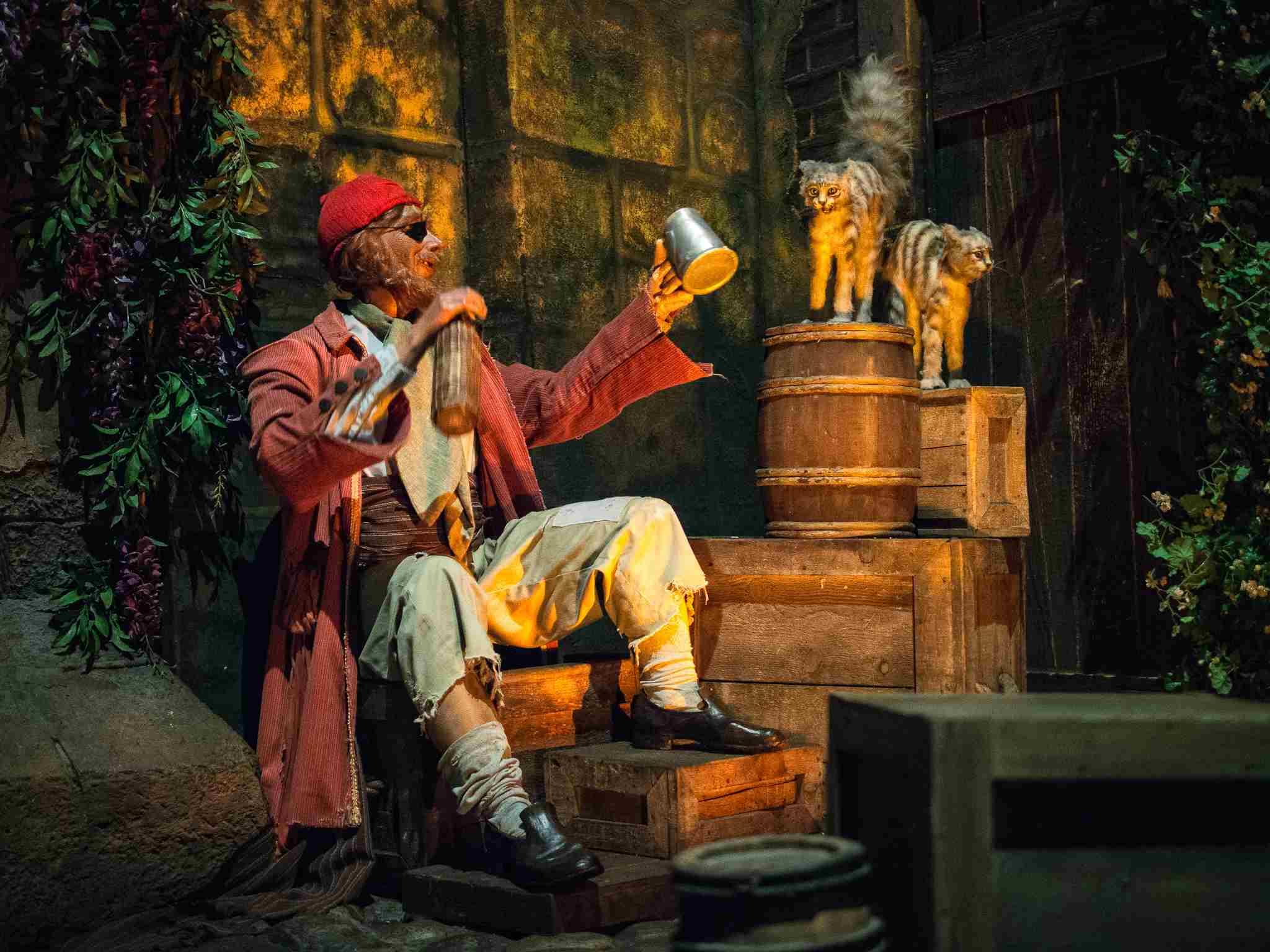 Disneyland Pirates of the Caribbean