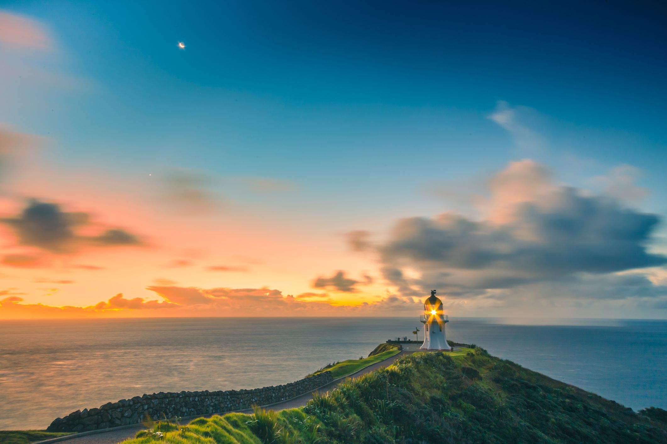 Cape Reinga The Northernmost Tip Of New Zealand