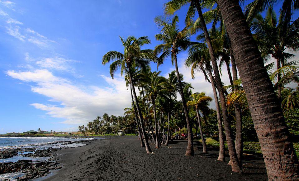 Punalu'u Beach view
