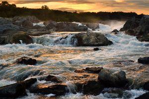 Great Falls at Sunset