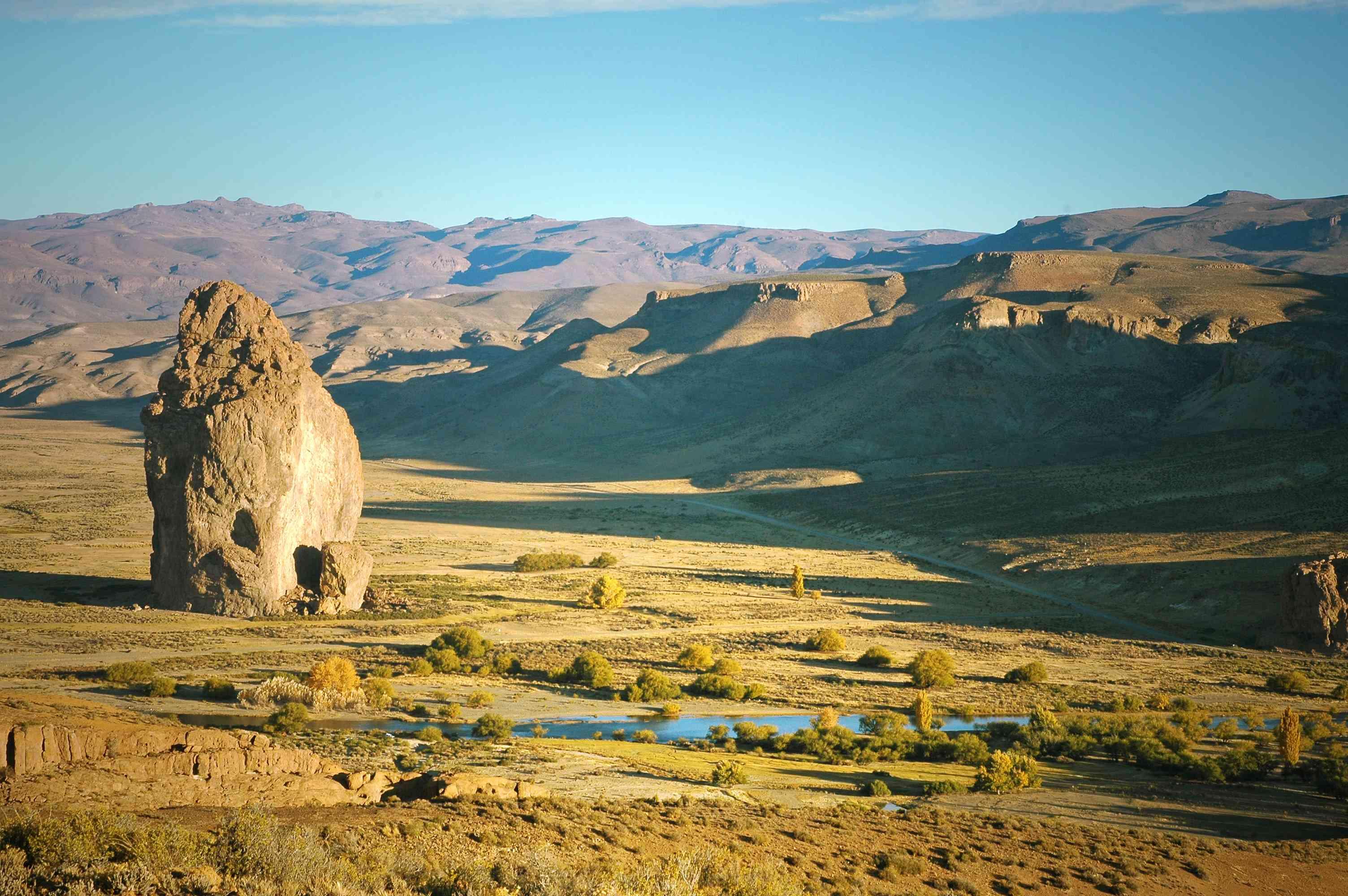 Piedra Parada, Chubut, Patagonia