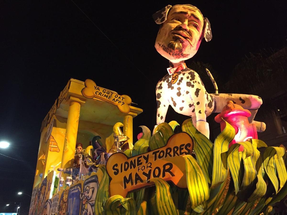 Sidney Torres parade float