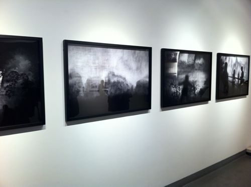 Photography installation at M97 gallery, Shanghai