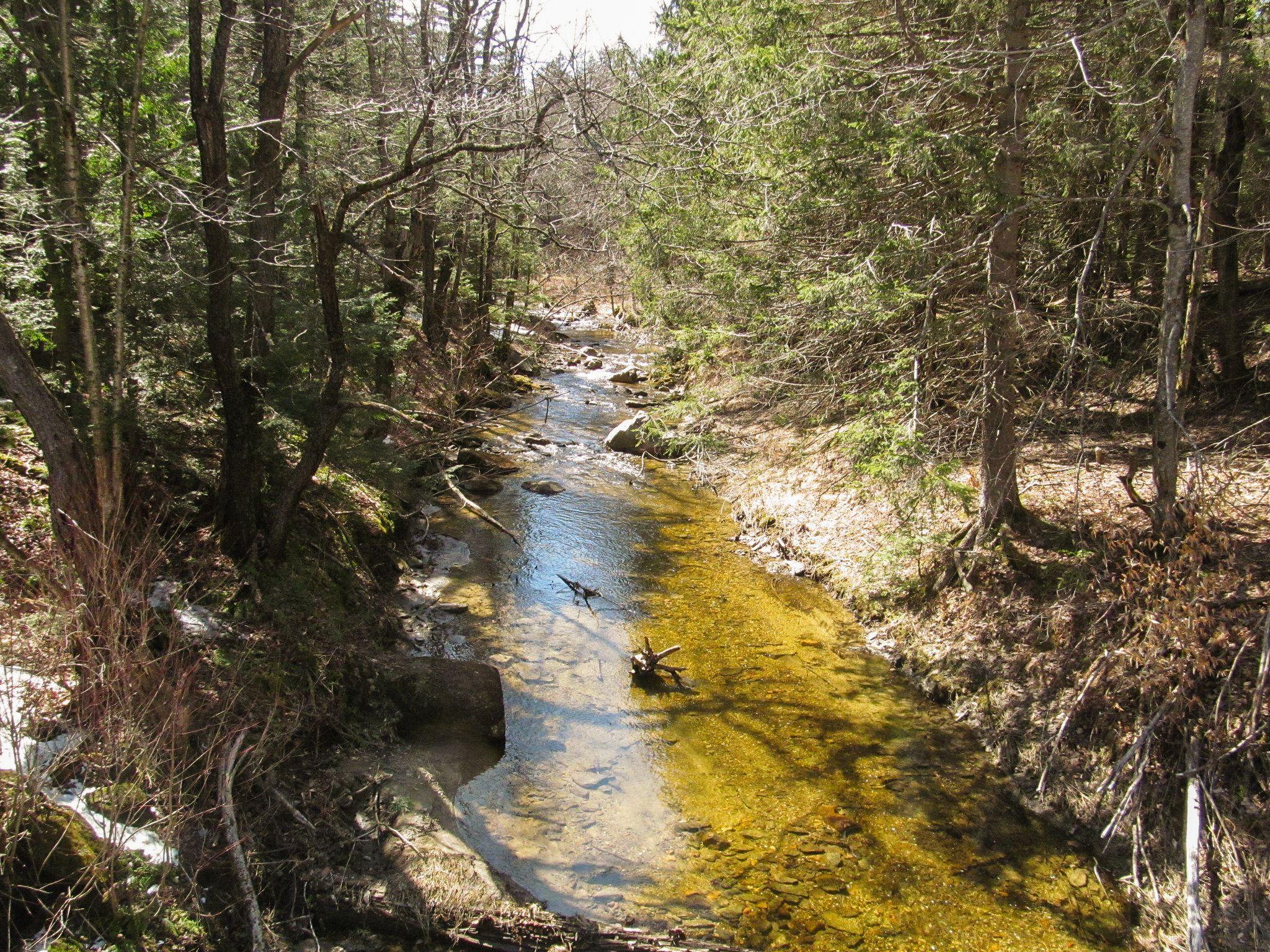 Creek auf einer Savoy Bergwanderung