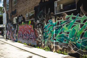 Graffiti Alley in Troronto