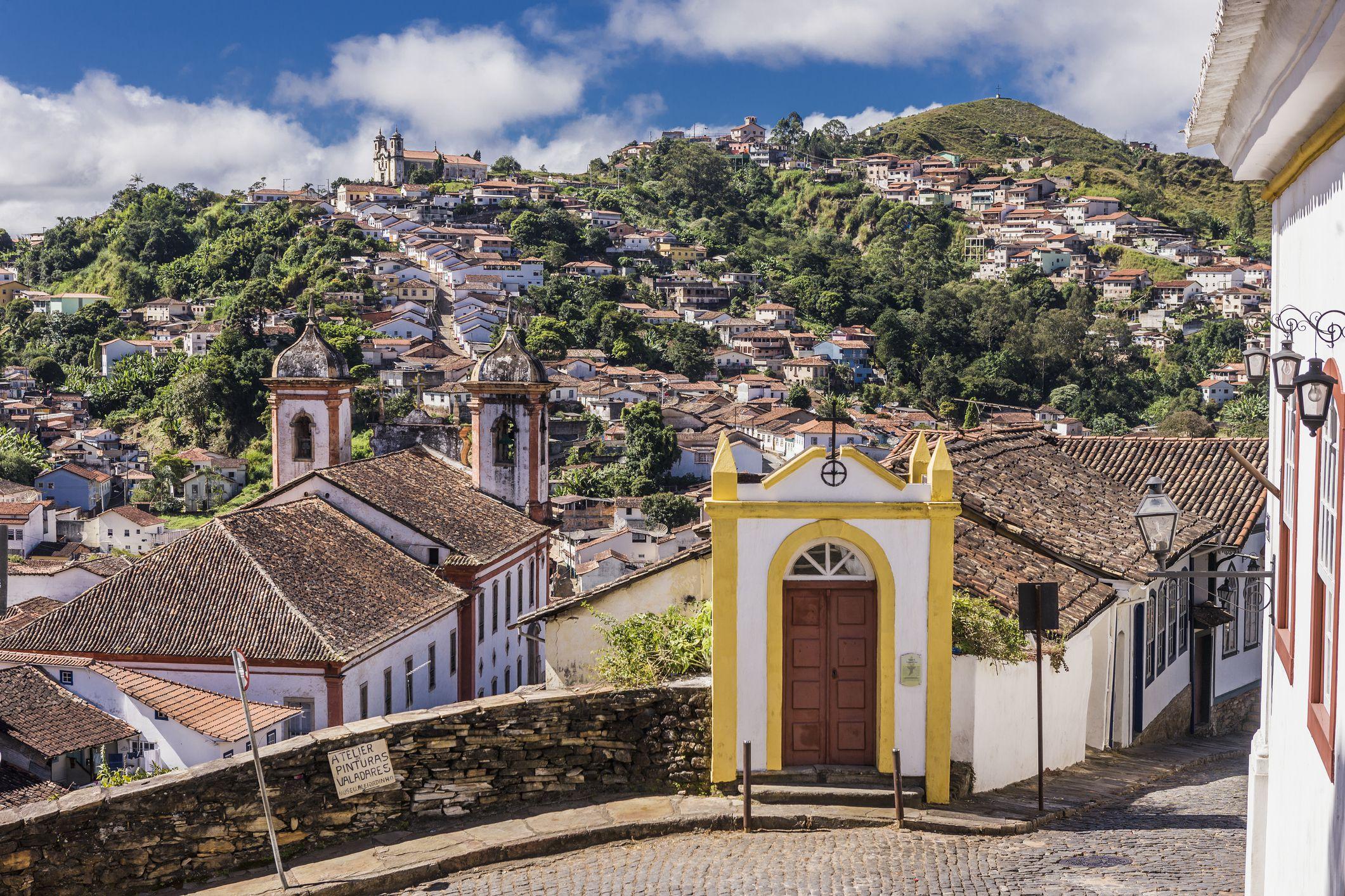 Brazil, Minas Gerais, Ouro Preto. São Francisco de Assis Church